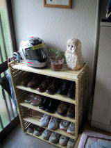 シューズ・ラック 100均で作る靴入れ