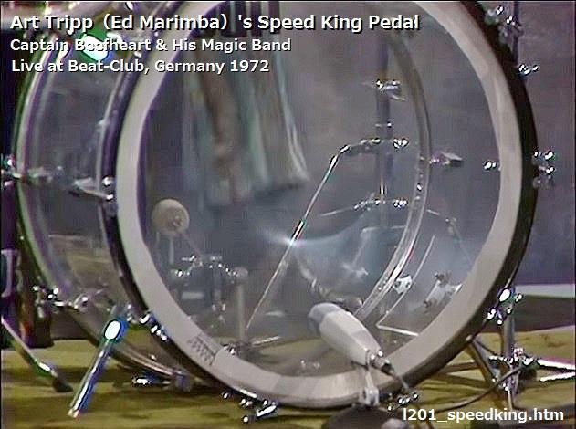 Ludwig L1286 Hard Felt For L201 Speed King