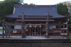 拝殿写真,柳川,三柱神社